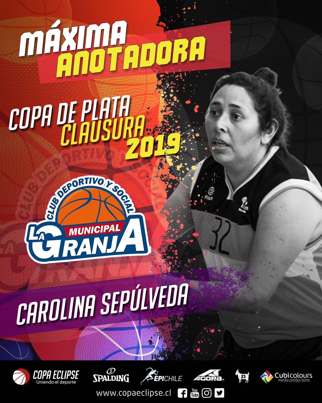 Carolina Sepulveda Anotadora Plata 2019C Low